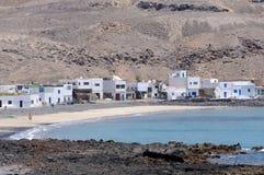 Fishing Village, Fuerteventura, Spain Stock Photos