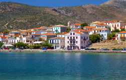 Fishing village of Galaxidi in Greece Stock Photo