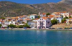 Fishing village of Galaxidi in Greece Stock Photo