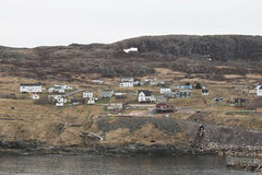 The fishing village of Grates Cove at the northern tip Avalon Pe Stock Images