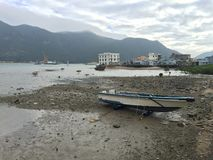 Fishing village Harbour Royalty Free Stock Image