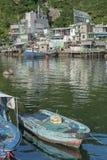 Fishing village in Hong Kong Stock Photos