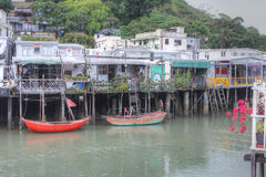 Fishing village, Hong Kong Royalty Free Stock Image