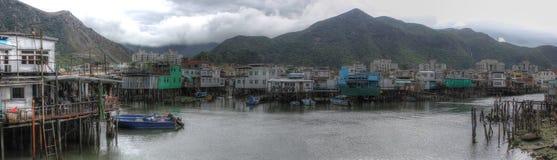 Fishing village, Hong Kong Royalty Free Stock Photo