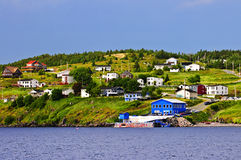 Fishing Village In Newfoundland Stock Images
