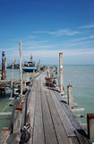 Fishing Village Jetty Royalty Free Stock Images