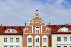 Fishing village. Kaliningrad (until 1946 Koenigsberg), Russia Royalty Free Stock Image