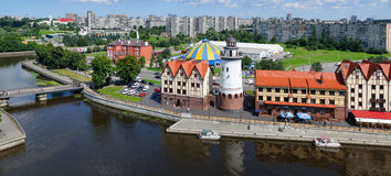 Fishing Village. Kaliningrad Royalty Free Stock Images