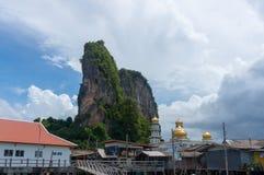 The fishing village of Koh Panyee Royalty Free Stock Photo