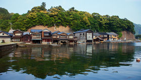 Fishing Village in Kyoto Royalty Free Stock Image