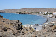 Fishing village La Lajita, Fuerteventura Royalty Free Stock Photos