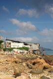 Fishing village of lei yue mun Stock Photography