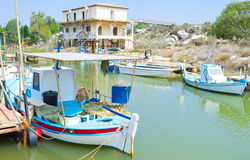 The fishing village Royalty Free Stock Image