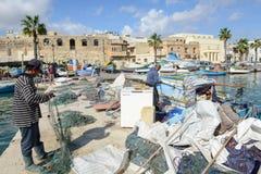 The fishing village of Marsaxlokk on Malta island Royalty Free Stock Image