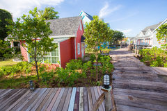 Fishing village Model Town Royalty Free Stock Photography