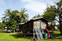 Fishing Village - Mulu National Park - Borneo. Fishing Village in Mulu National Park - Borneo Royalty Free Stock Photography
