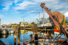 Fishing Village New Jersey Royalty Free Stock Photo