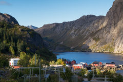Fishing village Nusfjord Stock Image