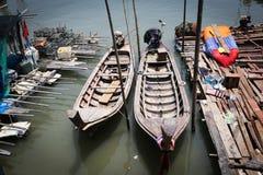 Fishing village Stock Images