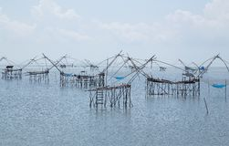 Fishing Village in Phatthalung Royalty Free Stock Photography