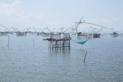 Fishing Village in Phatthalung Stock Image