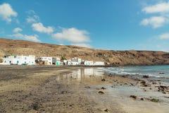 Fishing village Pozo negro on Fuerteventura Royalty Free Stock Photo