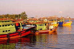 Fishing Village at Pulau Duyong, Terengganu Stock Photos
