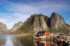 Fishing Village Reine Lofoten Norway Royalty Free Stock Photo