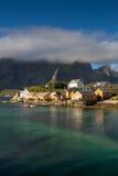 Fishing village Sakrisoy, Lofoten Royalty Free Stock Image