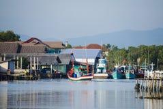 Fishing Village. Royalty Free Stock Image