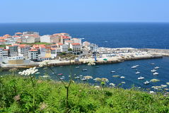 Fishing village in Spanish littoral Stock Images