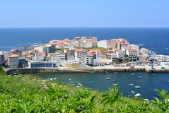 Fishing village in Spanish littoral Royalty Free Stock Photography