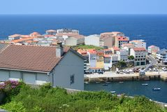 Fishing village in Spanish littoral Stock Photography