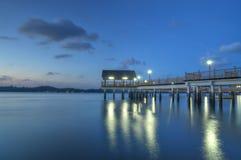Fishing Village on Stilts Stock Photo