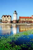 Fishing village - symbol of Kaliningrad (until 1946 Koenigsberg) Stock Photos