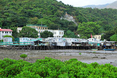 Fishing village Tai O Royalty Free Stock Images