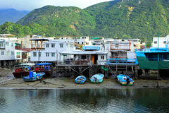 Fishing village Tai O Stock Photo