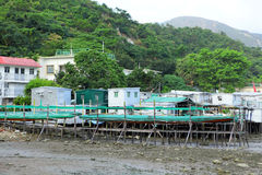 Fishing village Tai O Stock Images