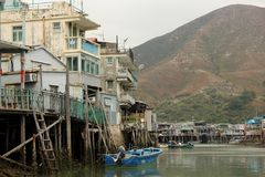 Fishing Village Royalty Free Stock Photography