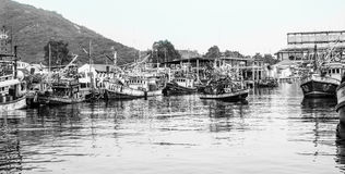 Fishing Village Thailand Stock Photos