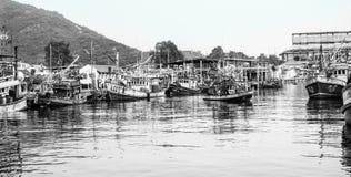 Fishing Village Thailand Stock Photos