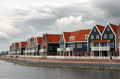 Fishing village of Volendam Holland Royalty Free Stock Image