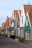 Fishing village of Volendam in Holland Stock Images