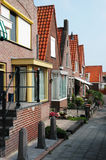 Fishing village of Volendam in Holland Stock Photo