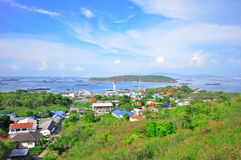 Fishing villages in island Stock Photo