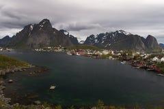 Fishing villages in Lofoten - norway Royalty Free Stock Photo