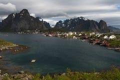 Fishing villages in Lofoten - norway stock photography