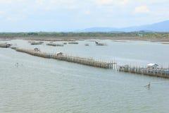 Fishing villages Royalty Free Stock Image