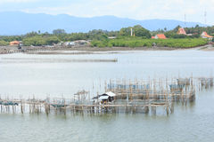 Fishing villages Royalty Free Stock Images