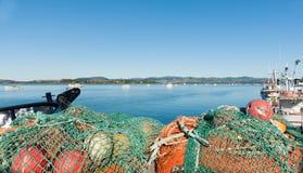 Fishing wharf, Tauranga. Stock Image
